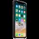 Apple kožený kryt na iPhone X, černá