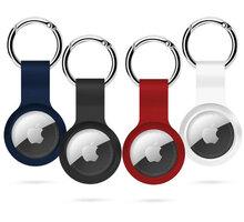 Epico klíčenka na Apple AirTag, 4ks, černá, bílá, modrá, červená - 9910101300002