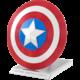 Stavebnice Metal Earth Marvel: Captain America - Shield, kovová