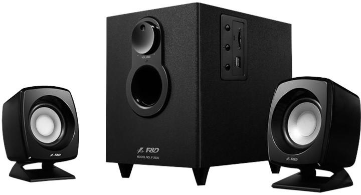 Fenda F&D F203U, černá