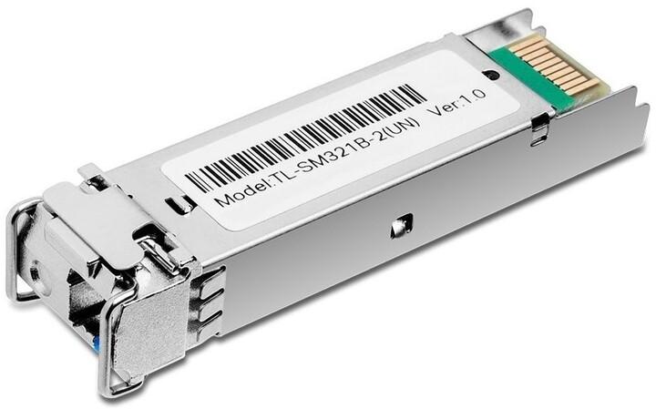 TP-LINK SFP modul TL-SM321B-2, 100/1000, WDM, SM, 2km, 1310/1550nm