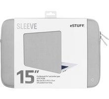 eSTUFF A1707, A1398 15'' Sleeve - Fits Macbook Pro, grey - ES82251-GREY