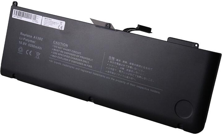 "Patona baterie pro Apple MacBook Pro 15"" 5200mAh, Li-Pol, 10,95V"