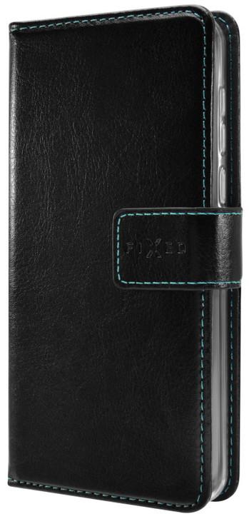 FIXED Opus pouzdro typu kniha pro Huawei P20, černé