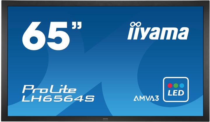 "iiyama ProLite LH6564S - LED monitor 65"""