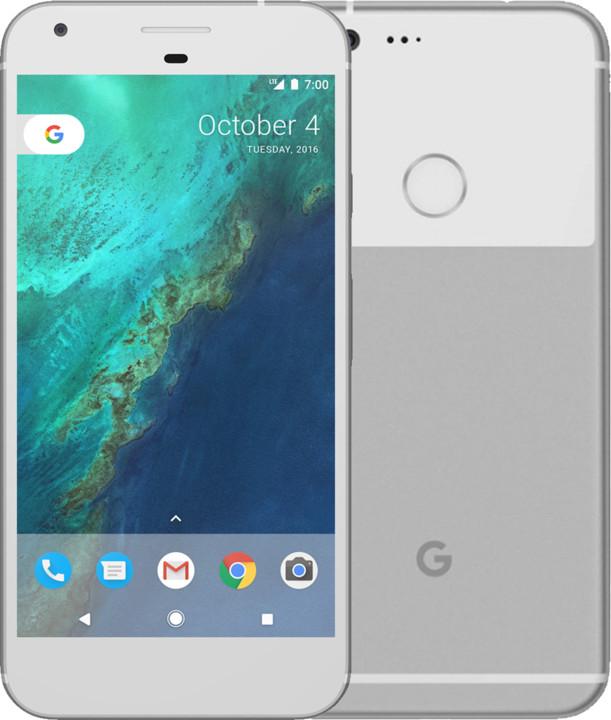 Google Pixel XL - 128GB, stříbrná