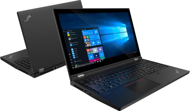 Lenovo ThinkPad P15 Gen 1, černá