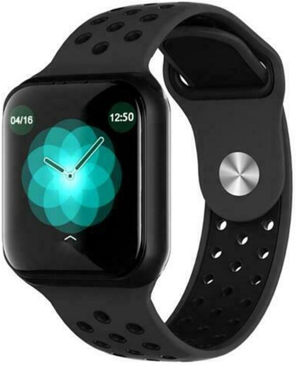 IMMAX chytré hodinky SW13 PRO, černé