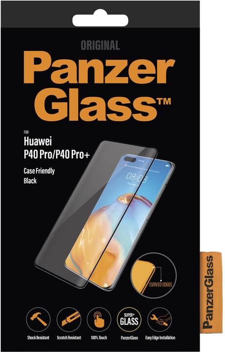 PanzerGlass Premium pro Huawei P40 Pro/ P40 Pro+, černá