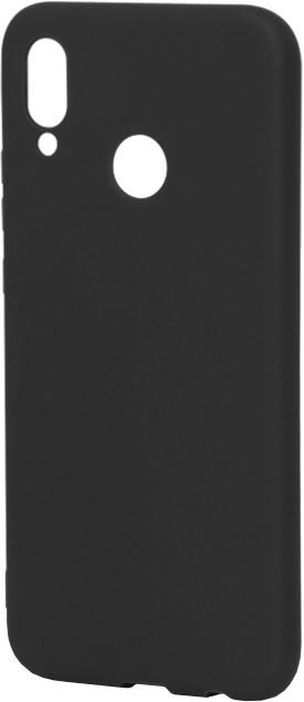 EPICO Pružný plastový kryt pro Huawei P20 Lite SILK MATT - černý