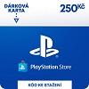 Dárková karta Playstation v hodnotě 250 Kč - elektronicky