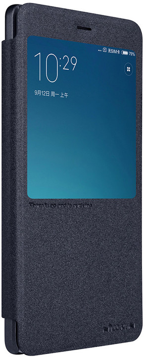 Nillkin Sparkle S-View Pouzdro pro Xiaomi Redmi Note 4 Global, Black