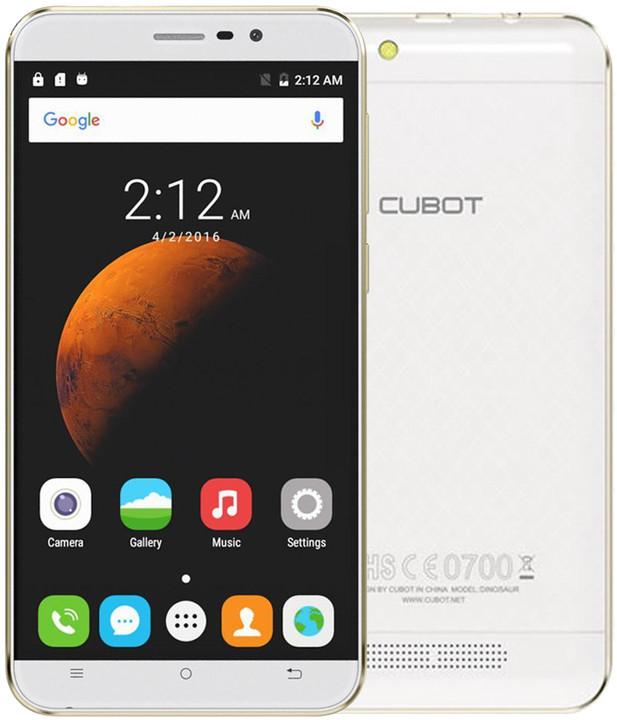 CUBOT Dinosaur - 16GB, bílá