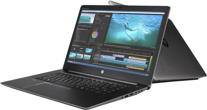 HP ZBook Studio G3, černá
