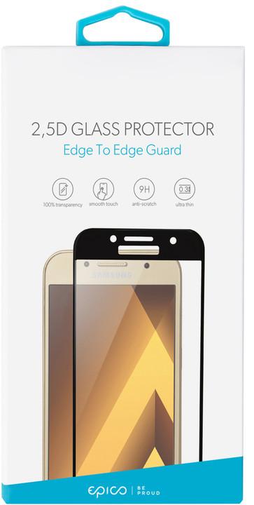 EPICO GLASS 2,5D tvrzené sklo pro Huawei Y5 (2018), černé