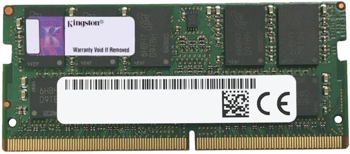 Kingston Server Premier 16GB DDR4 2400 ECC SO-DIMM, CL17, 2Rx8, Micron