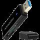 AXAGON CRE-S2, USB 3.0 Type-A, externí SLIM čtečka 2-slot SD/microSD