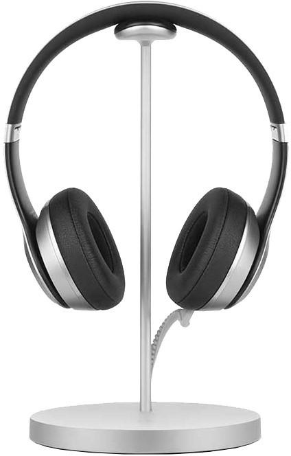 TwelveSouth Fermata Headphone nabíjecí stojan - Stříbrná