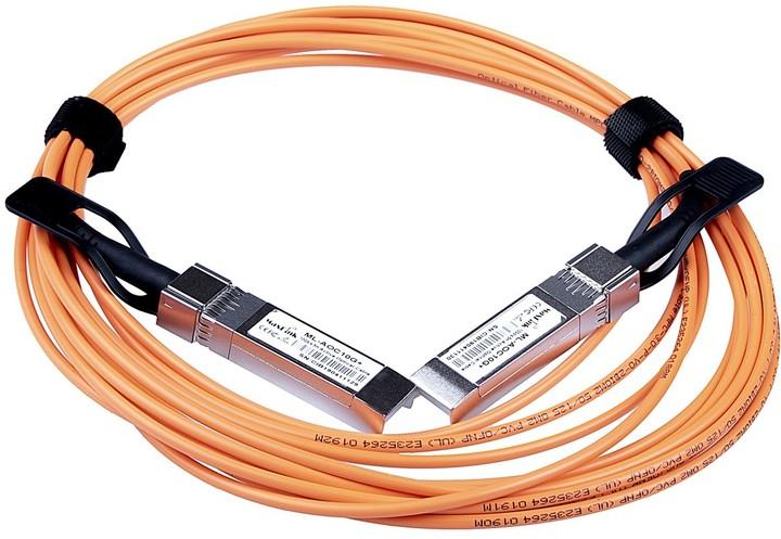 MaxLink optický kabel ML-AOC10G+20, 10G SPF+ AOC, aktivní, DDM, cisco, 20m