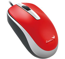 Genius DX-120, USB, červená