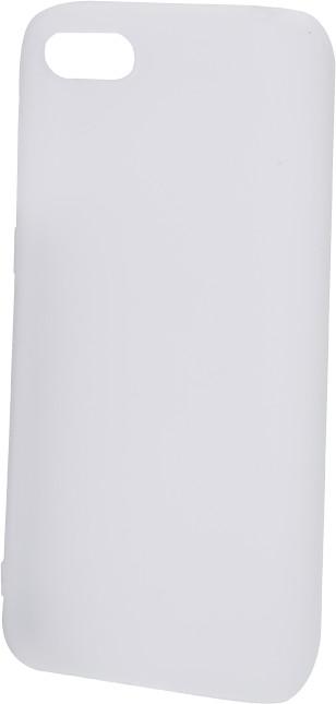 Epico Pružný plastový kryt pro Huawei Y5 (2018) SILK MATT, bílý