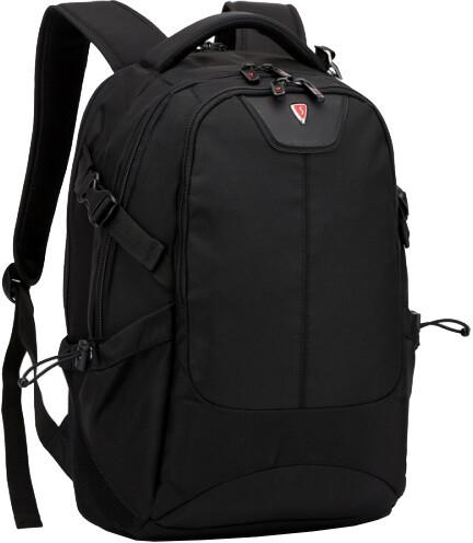 SUMDEX RED(S) batoh pro notebok BP-307BK, černý