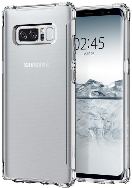Spigen Rugged Crystal pro Galaxy Note 8, clear