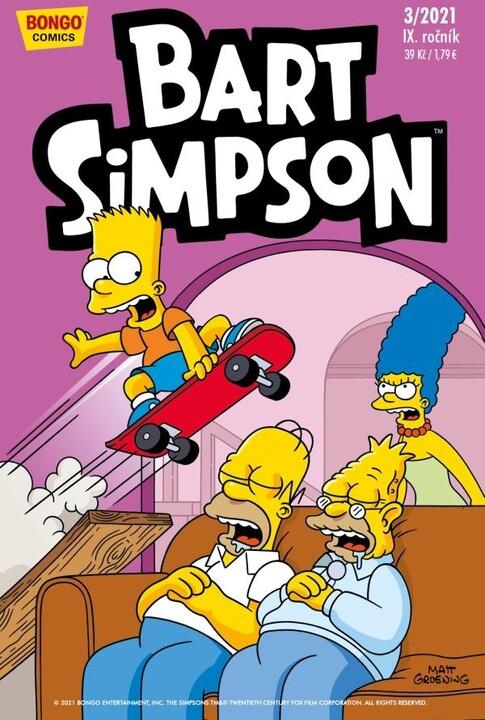 Komiks Bart Simpson, 3/2021