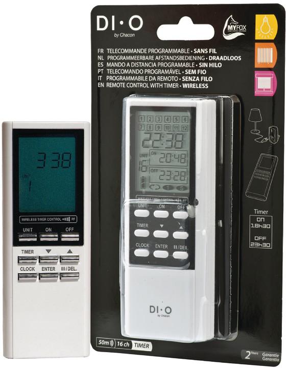 DI-O programovatelný dálkový ovladač, 16 kanálů