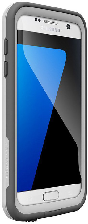 LifeProof Fre pouzdro pro Samsung S7, odolné, bílá