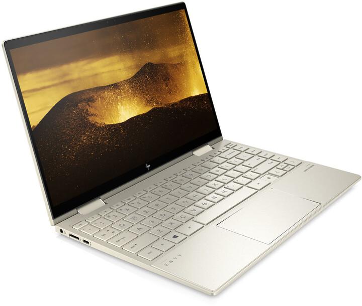 HP ENVY x360 13-bd0011nc, zlatá