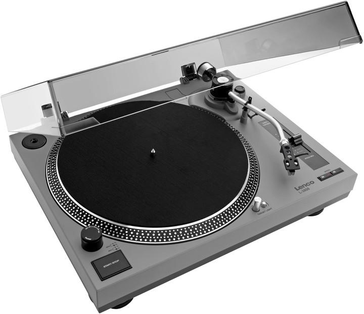 Lenco L-3808, šedý