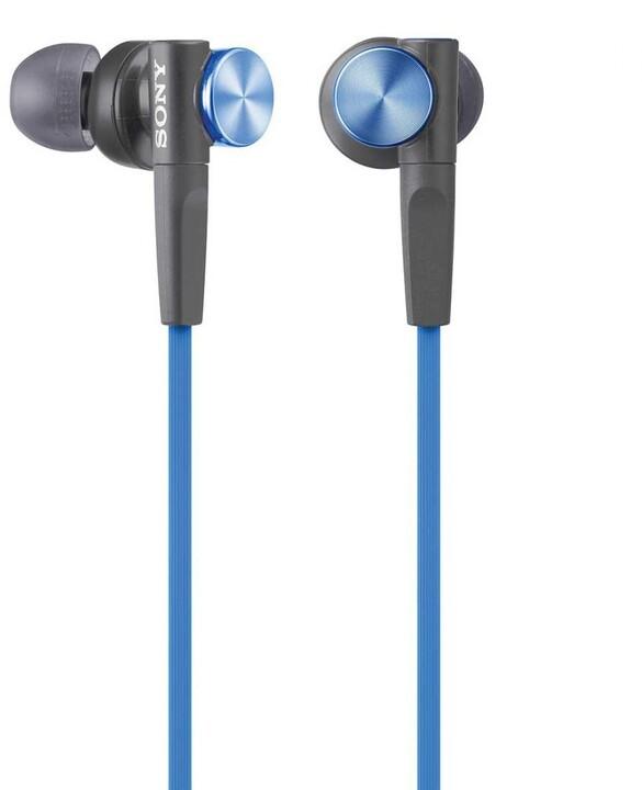 Sony MDR-XB50, modrá