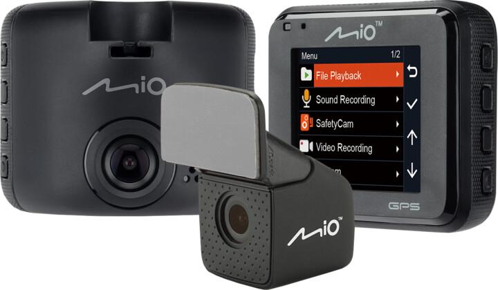 Mio MiVue C380 Dual, kamera do auta