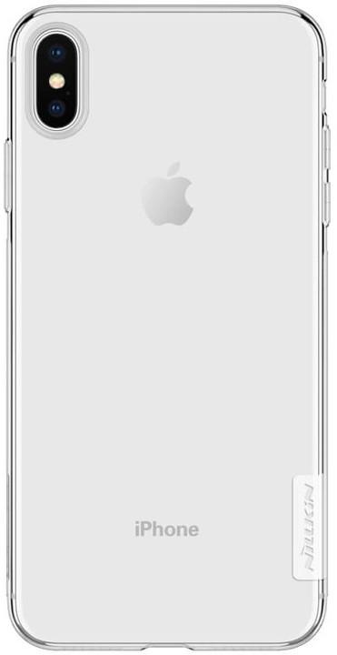 Nillkin Nature TPU pouzdro pro iPhone Xs Max, transparent
