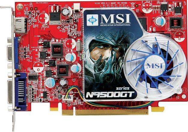 MSI N9500GT WINDOWS XP DRIVER