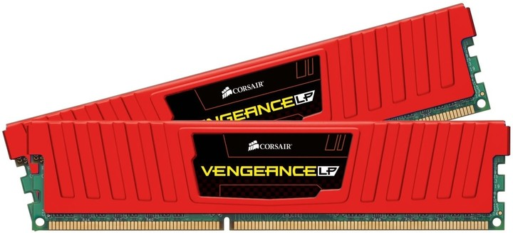 Corsair Vengeance Low Profile Red 8GB (2x4GB) DDR3 1866