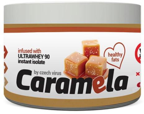 Caramela - Arašídy, protein a bílá čokoláda, 500g