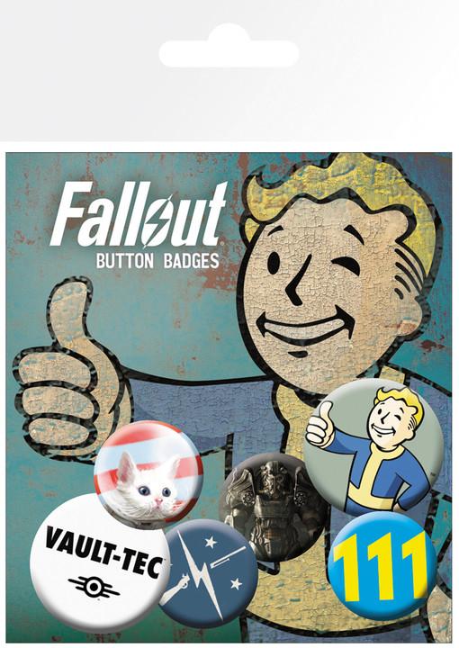 Odznaky Fallout 4 - Mix