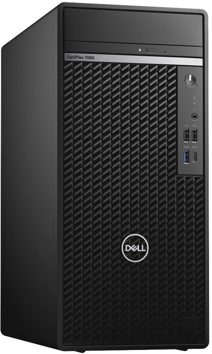 Dell OptiPlex (7080) MT, černá