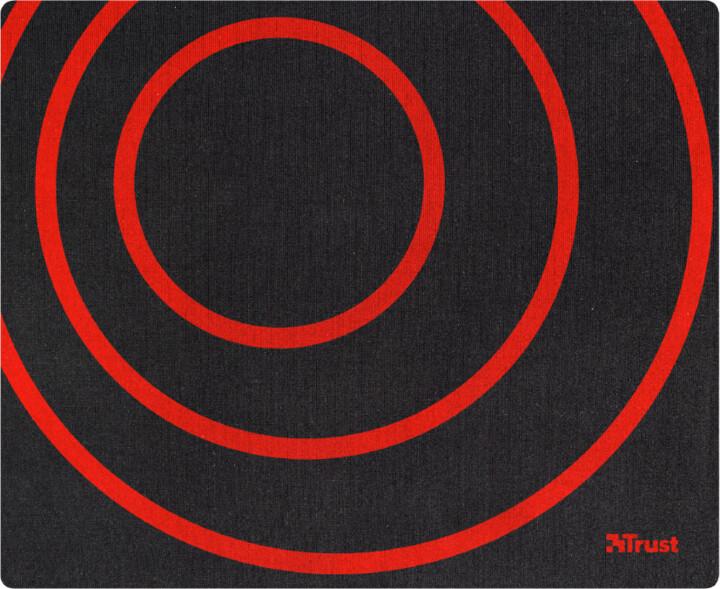 Trust Primo Mousepad, černá/červená