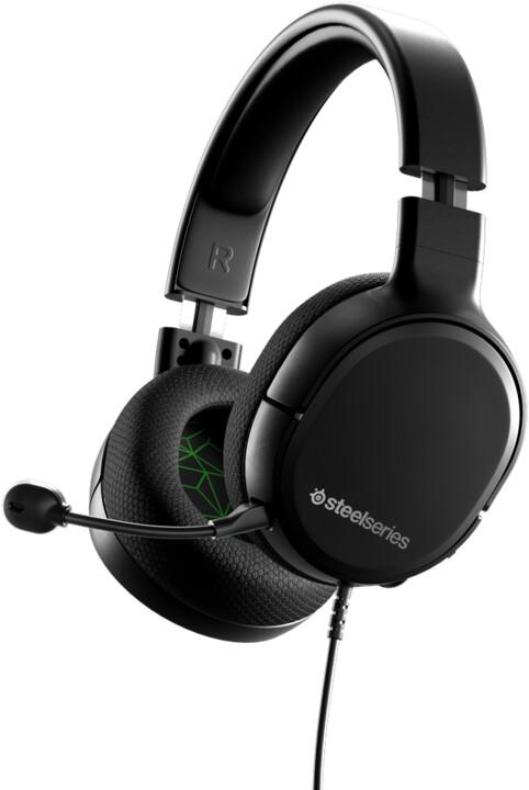 SteelSeries Arctis 1, černá/zelená
