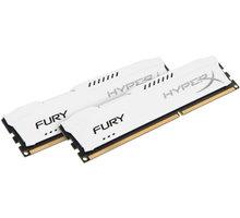 HyperX Fury White 16GB (2x8GB) DDR4 3466 CL 19 HX434C19FW2K2/16