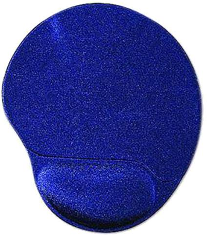 Gembird Ergo Maxi, ergonomická, modrá, látková