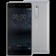 Nokia 5, Dual Sim, bílo/stříbrná  + Voucher až na 3 měsíce HBO GO jako dárek (max 1 ks na objednávku)