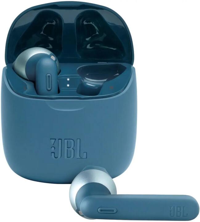 JBL Tune 225TWS, modrá