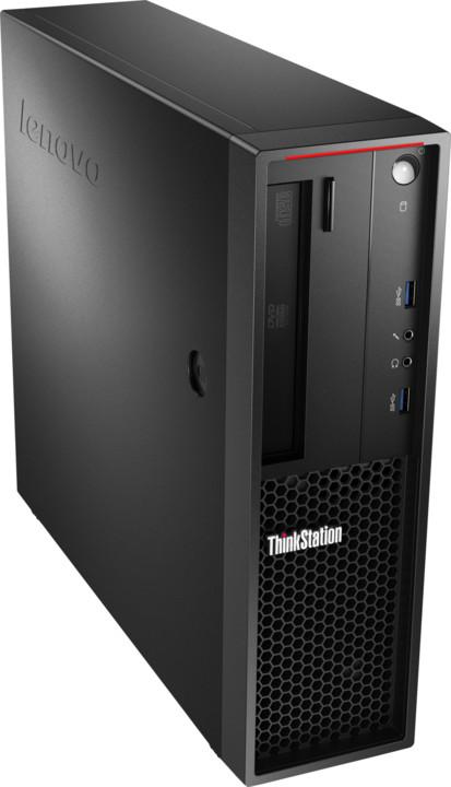 Lenovo ThinkStation P320 SFF, černá