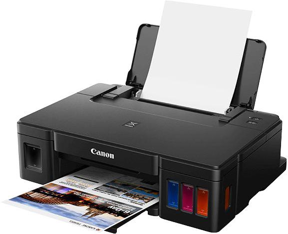 Canon PIXMA G1411, tankový systém + GI-490PGBK
