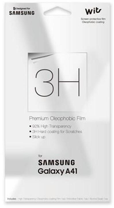Samsung ochranná folie pro Galaxy A41, transparentní