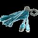 MIZOO USB/lightning přívěsek X900, modrý